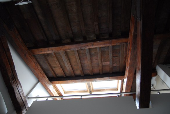 Travatura soffitto