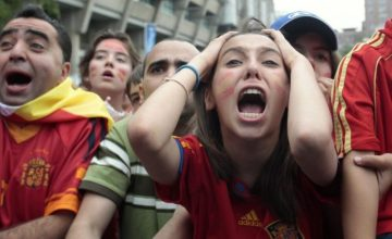 """World Cup 2014: """"Nightmare"""" for a Spain Fan"""