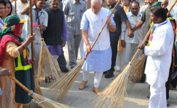 Look Who is Wielding a Broom these Days!