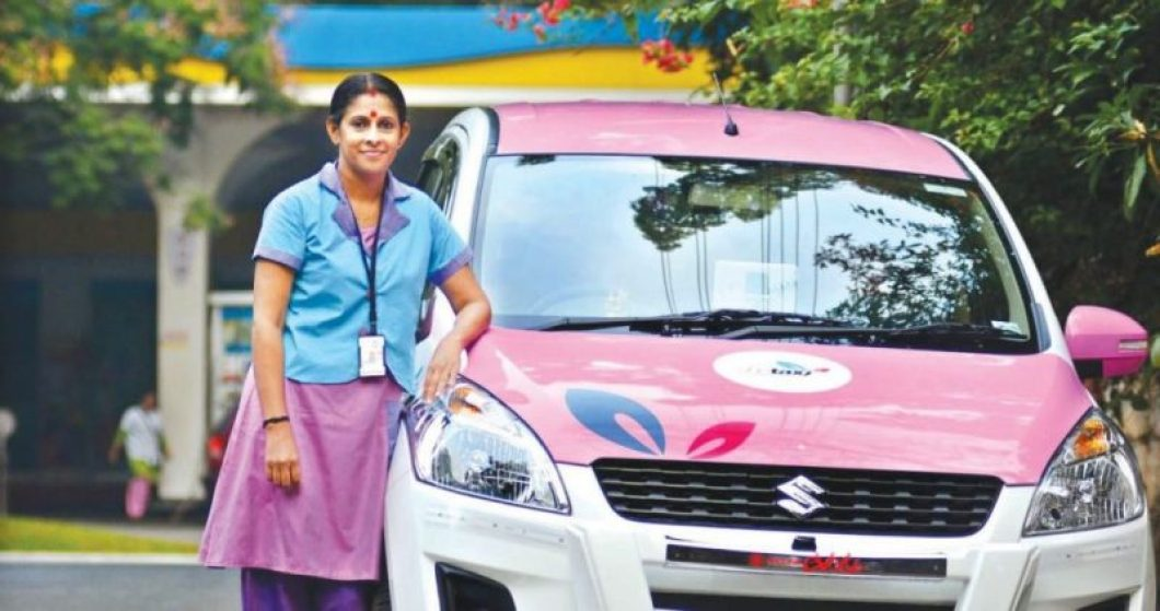 Women cab drivers is an innovative way to uplift women and improve women's security. | Photo Courtesy: The Storypedia