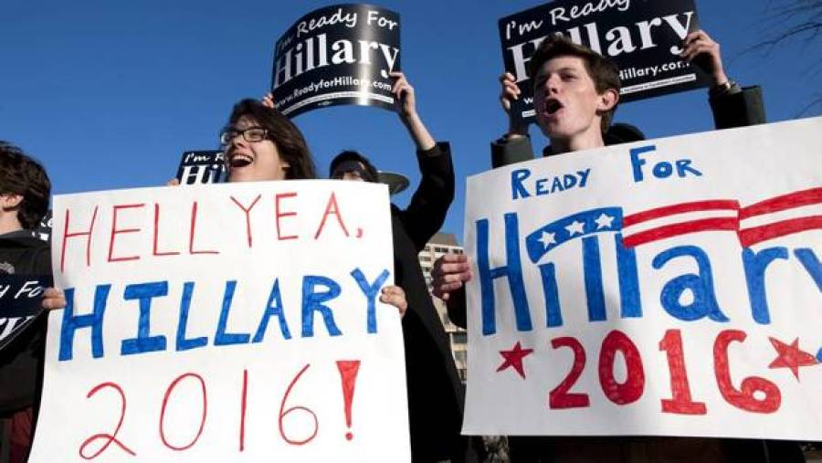 Hillary Clinton's US election campaign