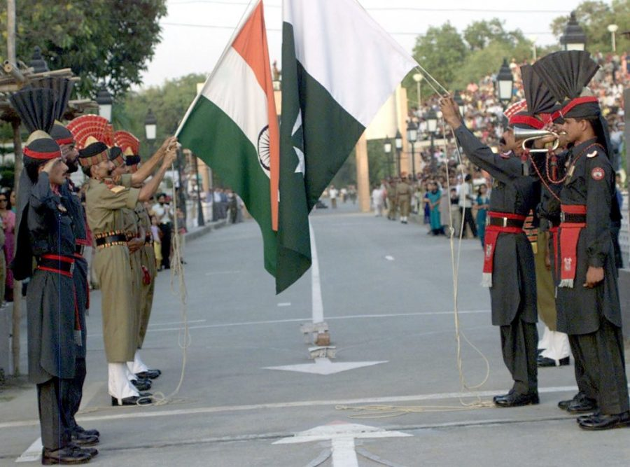 ceremony on the borders on India(Wagah)