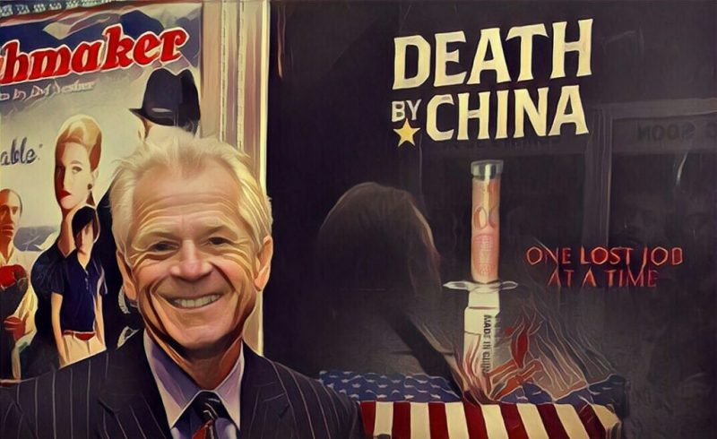 Peter Navarro - One of the trade protectionists who favor demonising China
