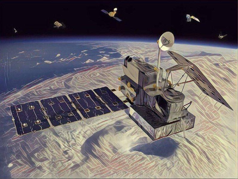 The satellite uses quantum physics.