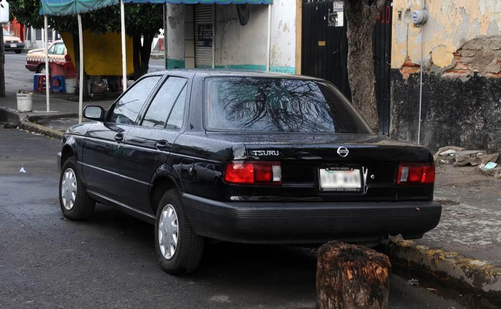 Los autos más robados en México