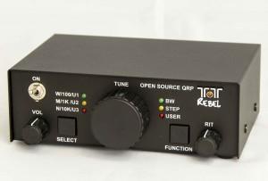 The TEN-TEC Model 506 Rebel 20/40 meter QRP Transceiver (Photo: TEN-TEC--click to enlarge)