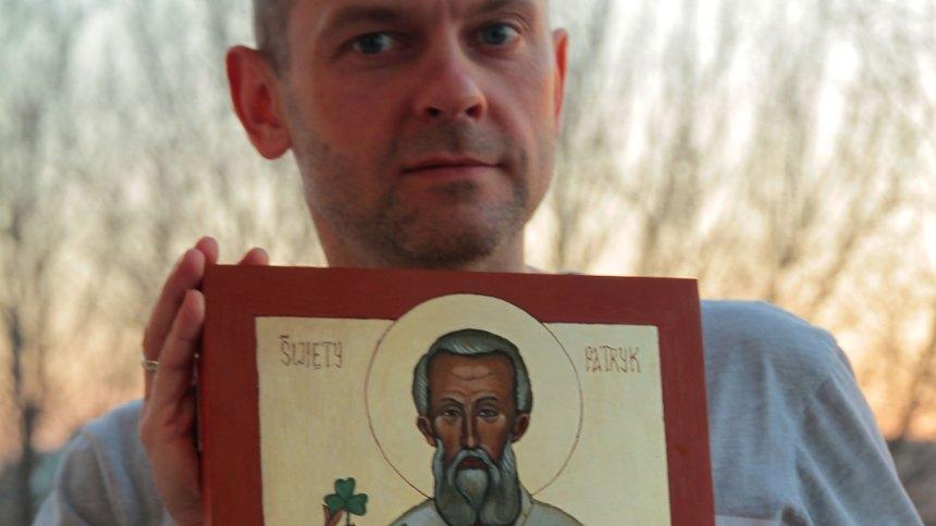 ikona św Patryka