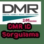 DMR ID Sorgulama