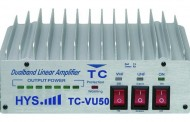 Dual band Portable  Amplifier TC-VU50 ( VHF and UHF )