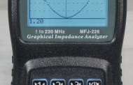 MFJ-226 1-230 MHZ ANTENNA EXPECT TIMES GRAPHIC ANALYZER
