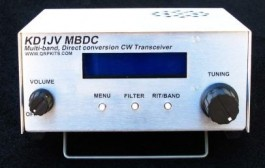 QRP – Multi-band, Direct Conversion CW Transceiver