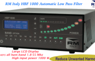 RM Italy HBF 1000 Automatic Low-Pass Filter, 1.8-55mhz, 1000W