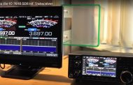 The New ICOM IC-7610 in operation