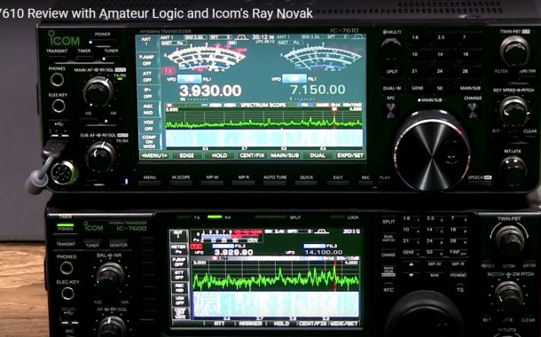IC-7610 Review with Amateur Logic and Icom's Ray Novak