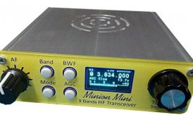 All-band HF direct conversion transceiver QRPver DC-3001 Minion Mini