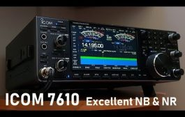 ICOM IC-7610 & excellent noise blanker and noise reduction