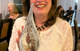 Carole Perry, WB2MGP, is First Recipient of Award Named in Her Honor