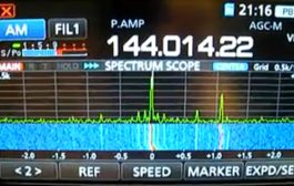 Unauthorized transmissions in 144 MHz satellite allocation