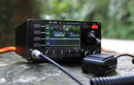 KN-990 HF 0.1~30MHz SSB/CW/AM/FM/DIGITAL IF-DSP Amateur Ham Shortwave Radio Transceiver Spectrum