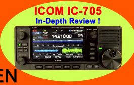ICOM IC-705 Review and Full Walk Through