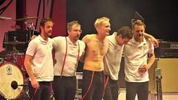 Max Marschk, Steffen Israel, Felix Brummer, Karl Schumann, Till Brummer (von links nach rechts)