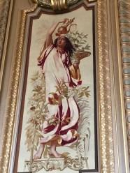 Wandteppich in der Opéra Garnier