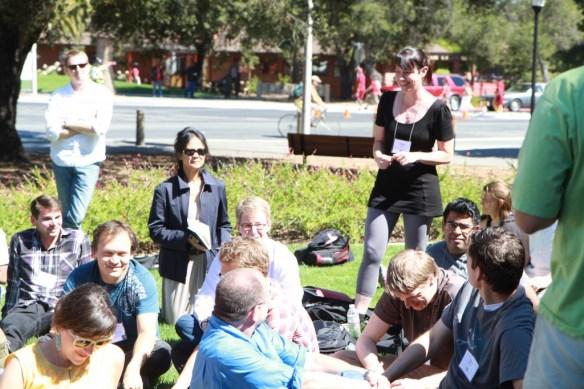Photo von der QS Conference (copyright by Apneet Jolly)