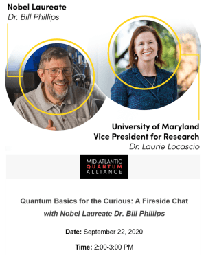 [MQA Seminar] Quantum Basics for the Curious: A Fireside Chat with Nobel Laureate Dr. Bill Phillips