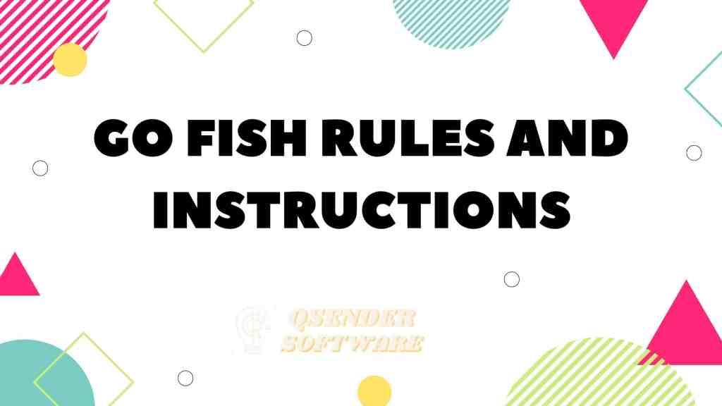 Go Fish Rules
