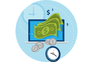 Eliminate the time-consuming process of paper-based accounting