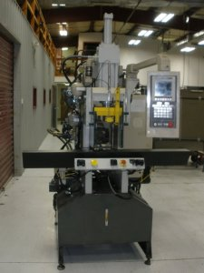 AUTOJECTOR VERTICAL PRESS 40 TON SHUTTLE, YR 1996---CALL FOR QUOTE---270