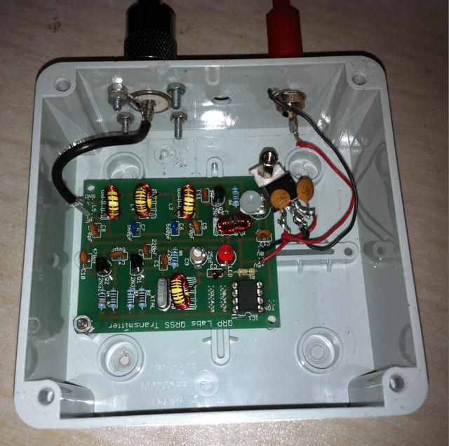 40m QRP Labs QRSS Transmitter