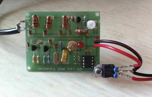 80m QRSS transmitter