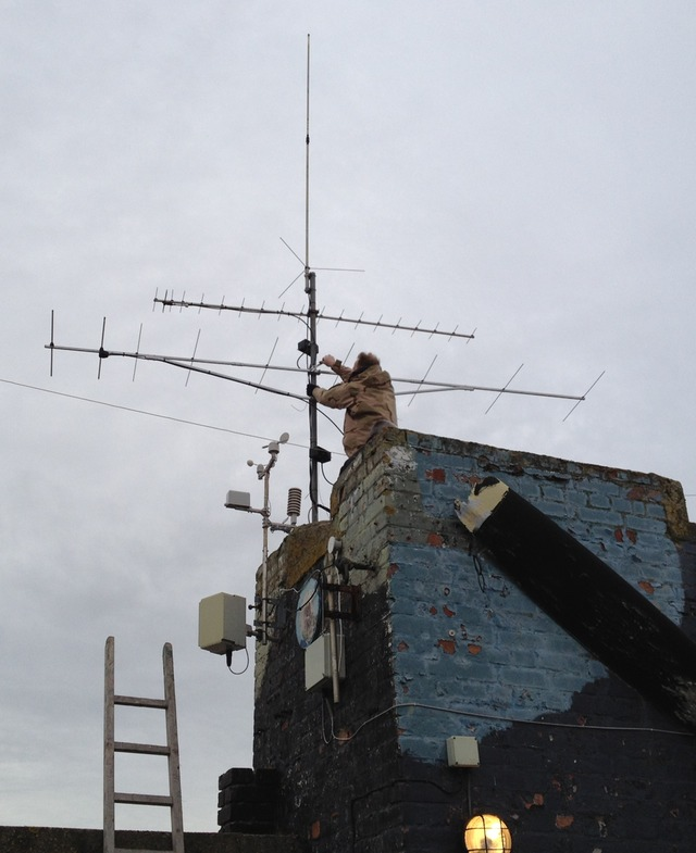 Fixing and lining up the 144MHz 9 element Vargarda