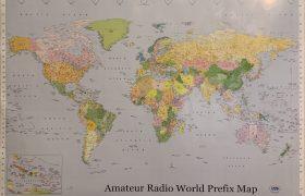 Amateur Radio World Prefix map by DXMaps