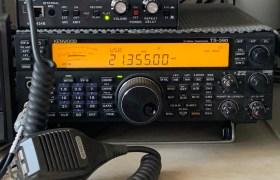 MFJ-434B Voice Keyer and Kenwood TS-590SG