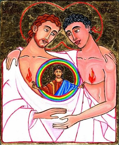 Saints sergius and bacchus homosexuality