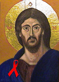 AIDS spiritual resources: Art connects Christ, saints and HIV on World AIDS Day