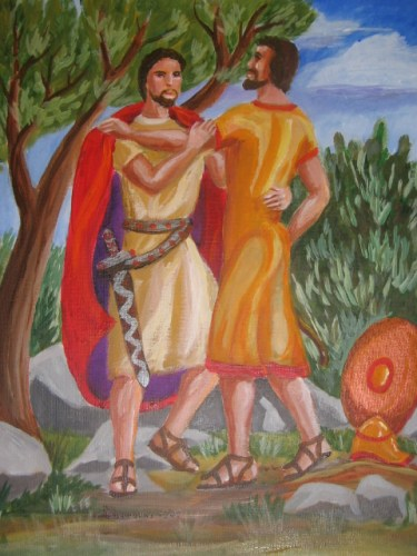 Jonathan Made a Covenant with David by Trudie Barreras