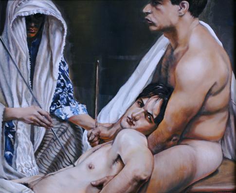 """Saint Sebastian No. 1"" by Oscar Magnan"