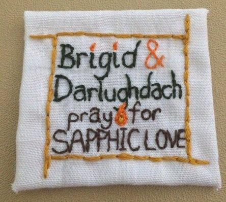 Brigid And Darlughdach Celtic Saint Loved Her Female Soulmate