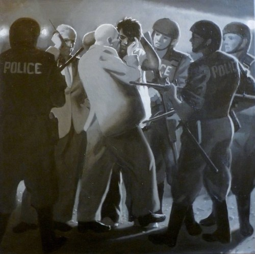 """""""Jesus is Arrested (The Passion of Christ: A Gay Vision II"""" by Doug Blanchard"""