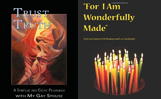 Book covers Trust Truth and For I am Wonderfully Made