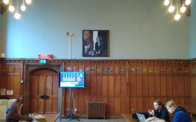 Marcella Althaus-Reid portrait displayed at University of Edinburgh