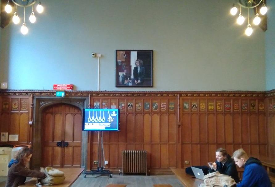 Marcella Althaus-Reid portrait displayed at University of Edinburgh