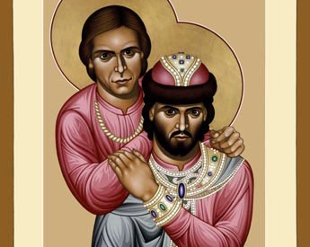 Boris and George: Russian saints united in love and death