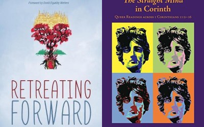 "New in August: LGBTQ Christian books ""Retreating Forward"" and ""The Straight Mind in Corinth"""