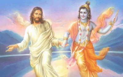 What if Krishna and Christ made love?
