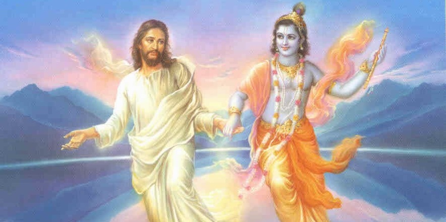 Christ and Krishna