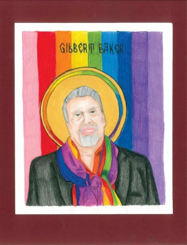 """""""Gilbert Baker"""" by Katy Miles-Wallace"""